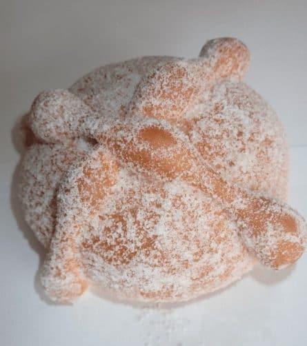 Pan de Muerto Relleno de Chocolate