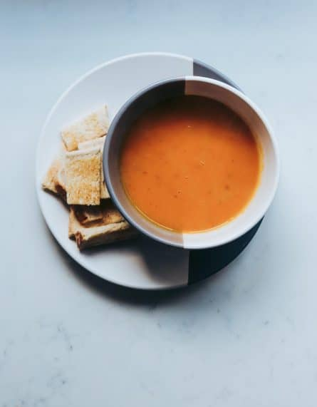 Sopa De Zanahoria Con Jengibre