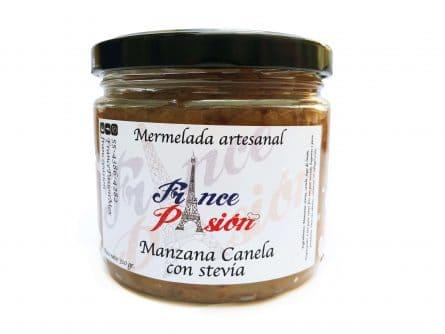 Mermelada Manzana Canela y Estevia