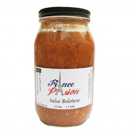 Salsa Boloñesa de Res