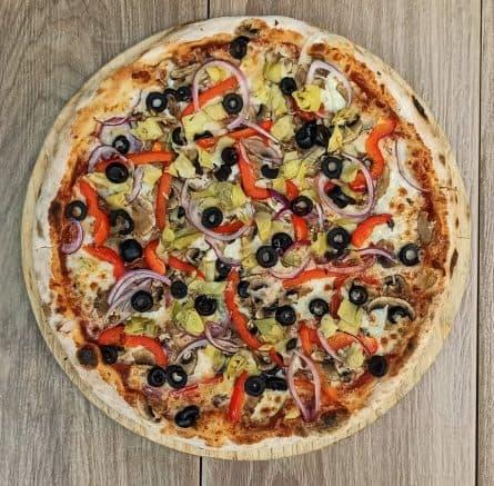 Pizza Vegetariana Congelada